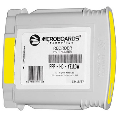 Yellow Ink Cartridge for MX-1, MX-2, PF-PRO Disc Printers