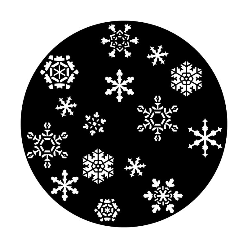 Snowfall 2 Steel Gobo