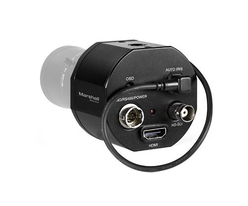 Compact 2.5MP Genlock Broadcast Video Camera Body Only