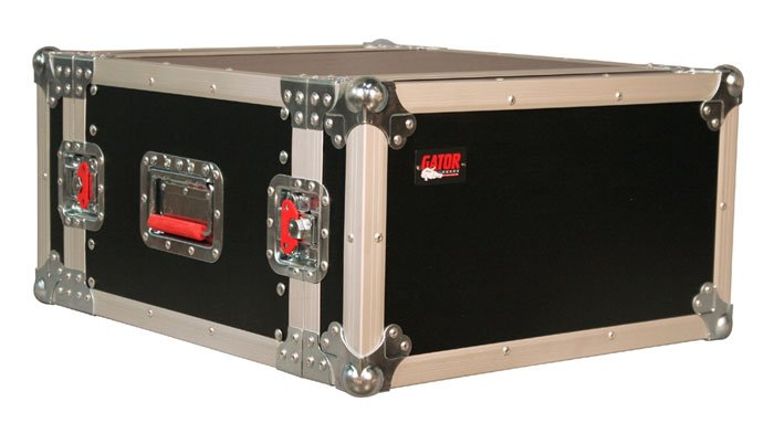 Standard Audio Road Rack Case, 6RU