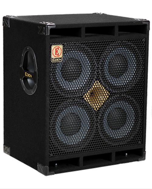 "1000W 4-Ohm 4x10"" Bass Speaker Cabinet"