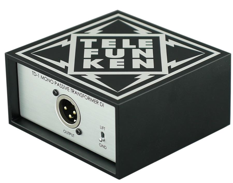 Mono Passive DI Box