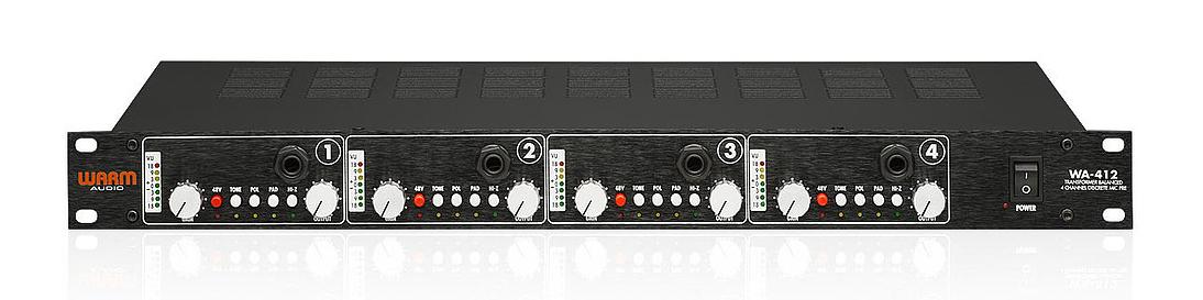 4 Channel Discrete Microphone Preamp
