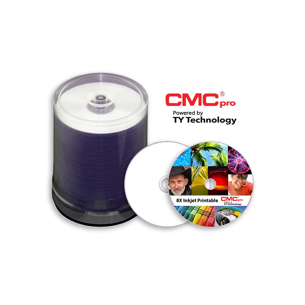 8x 4.7 GB White Inkjet DVD-R