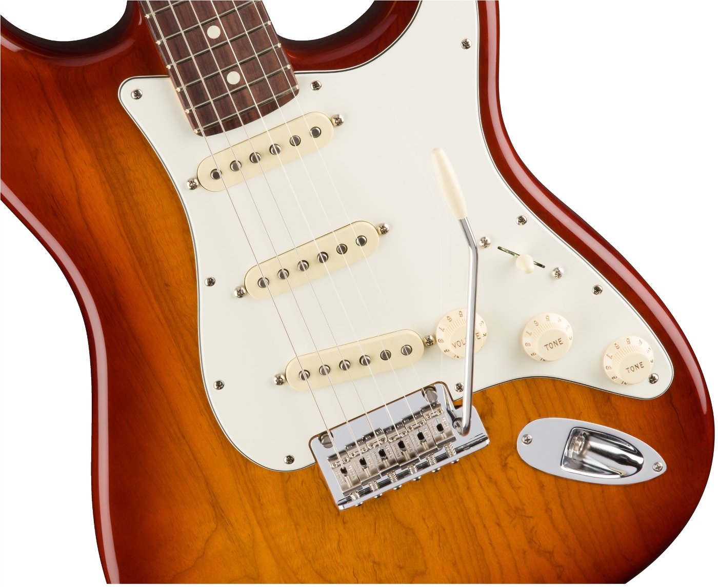 Electric Guitar Rosewood Fingerboard, Sienna Burst Finish