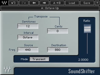 Waves SOUSHF Time And Pitch Shifting Plug-in (Download) | Full