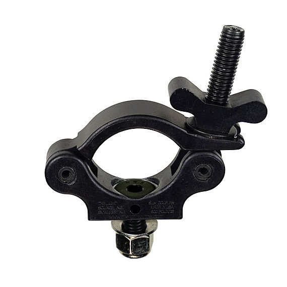 "Mega Slim 1/2"" Countersunk Coupler in Black"