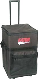 Semi-Hard Powered Mixer Case (with Handle & Wheels)