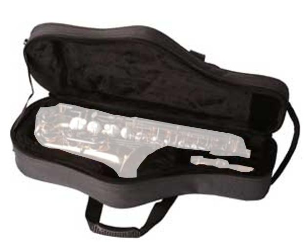 Lightweight Foam Soft Case for Tenor Saxophones