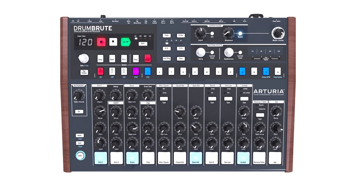 Analog Drum Machine