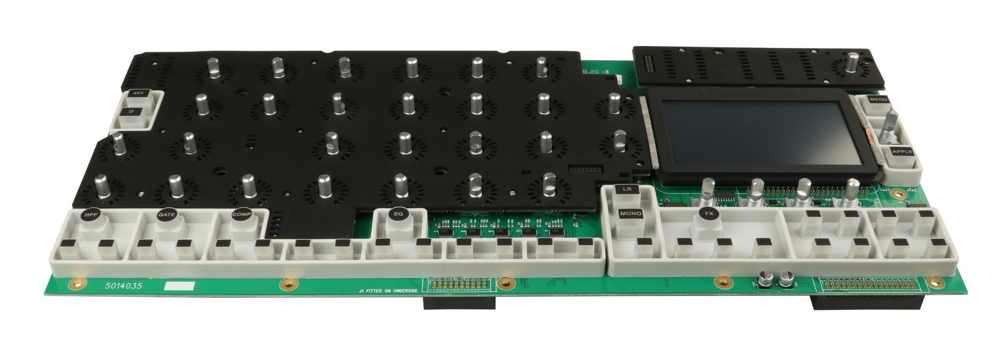 Main Top PCB Assembly with Encoders for Si Performer 2