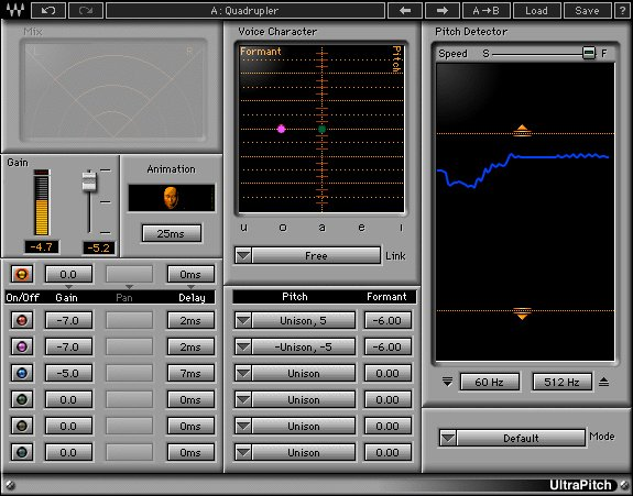Waves UltraPitch Pitch Shifter and Harmonizer Plug-in (Download) | Full  Compass