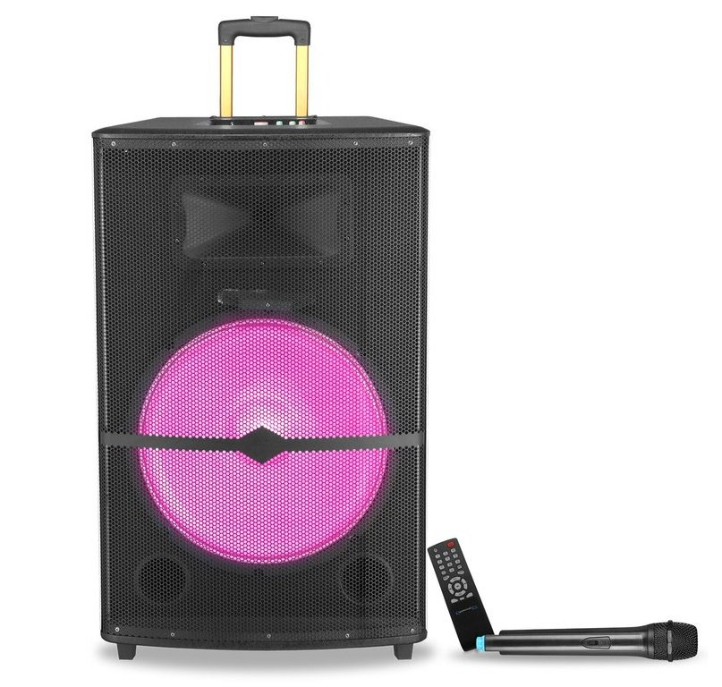 "Rechargeable 18"" Bluetooth Active Speaker"