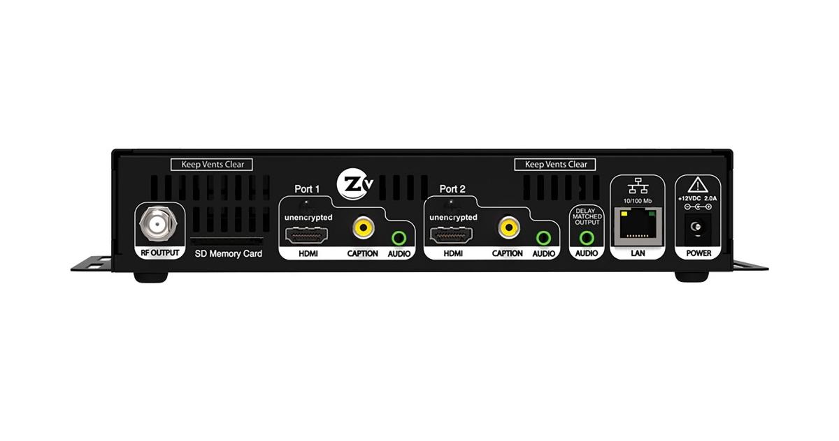 High Definition Video Encoder/QAM Module
