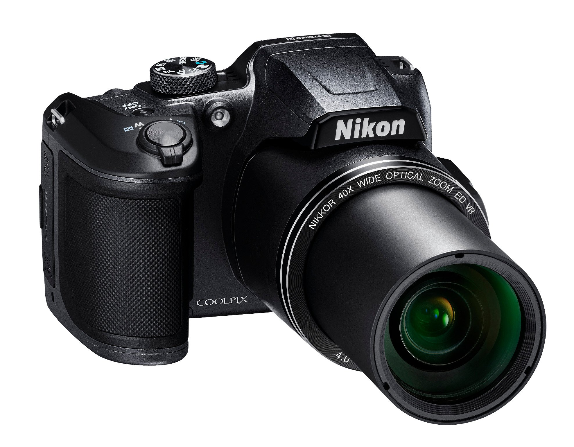 16MP Digital Camera with 40x Zoom in Black