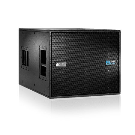 """Active 15"""" Band-Pass Subwoofer, Black"""