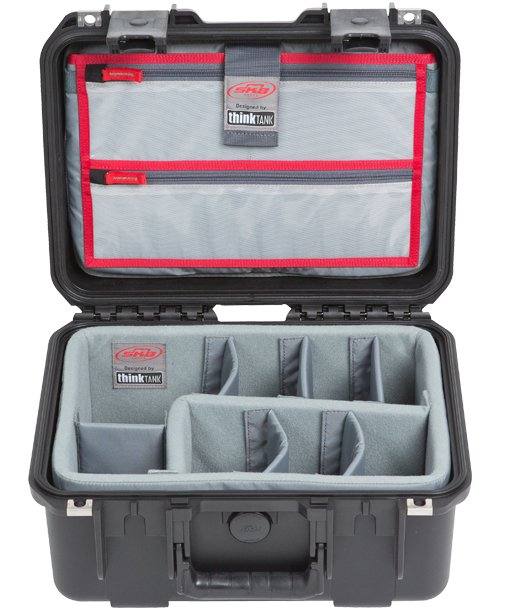 iSeries 1309-6 Case with Think Tank Designed Photo Dividers & Lid Organizer