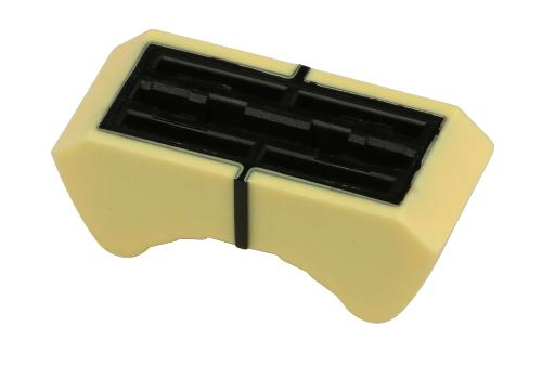 Yellow Fader Knob