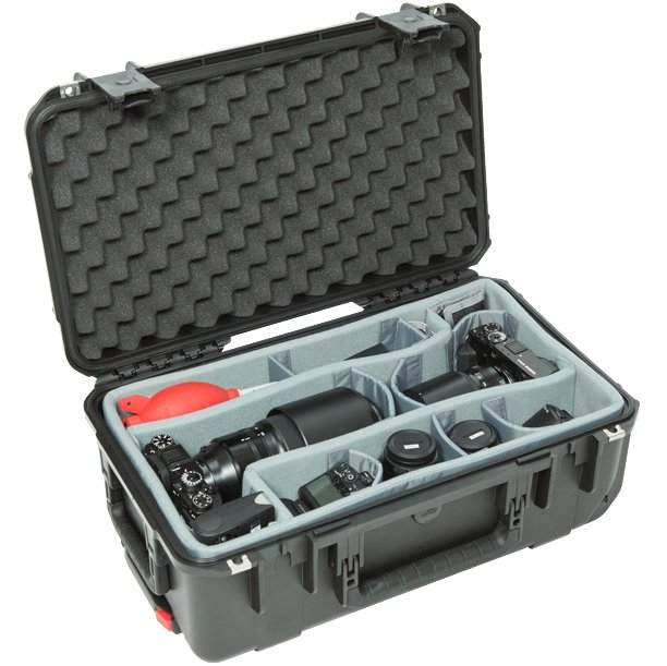 iSeries 2011-7 Case with Think Tank Designed Photo Dividers