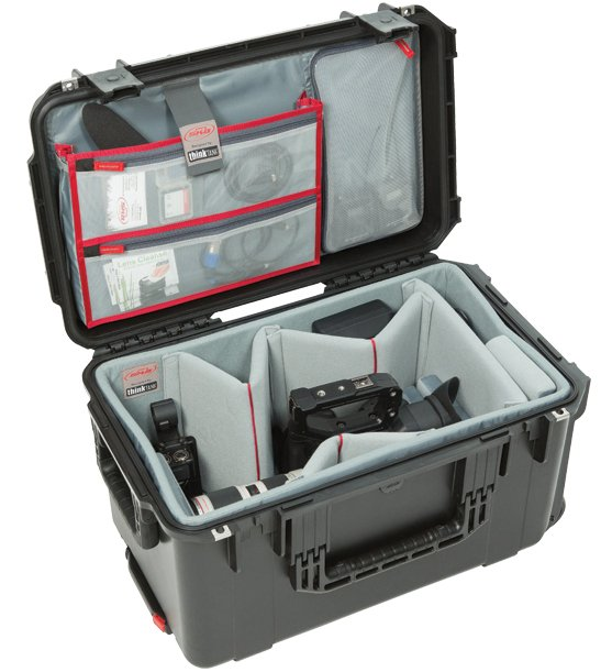 SKB Cases 3i-2213-12DL  iSeries 2213-12 Case with Think Tank Designed Photo Dividers & Lid Organizer 3i-2213-12DL