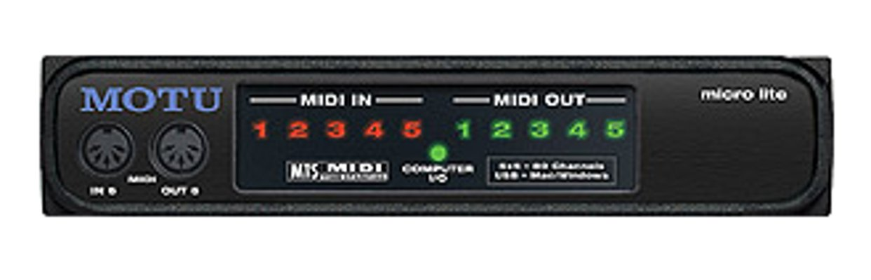 5/5 Bus Powered MIDI I/O Interface