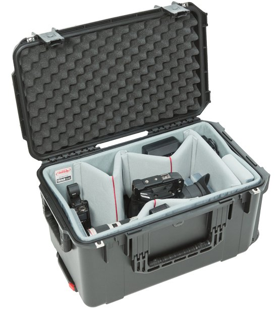 iSeries 2213-12 Case with Think Tank Designed Video Dividers