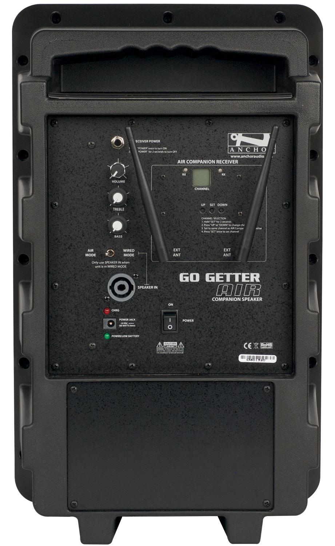 Go Getter AIR battery powered wireless  speaker