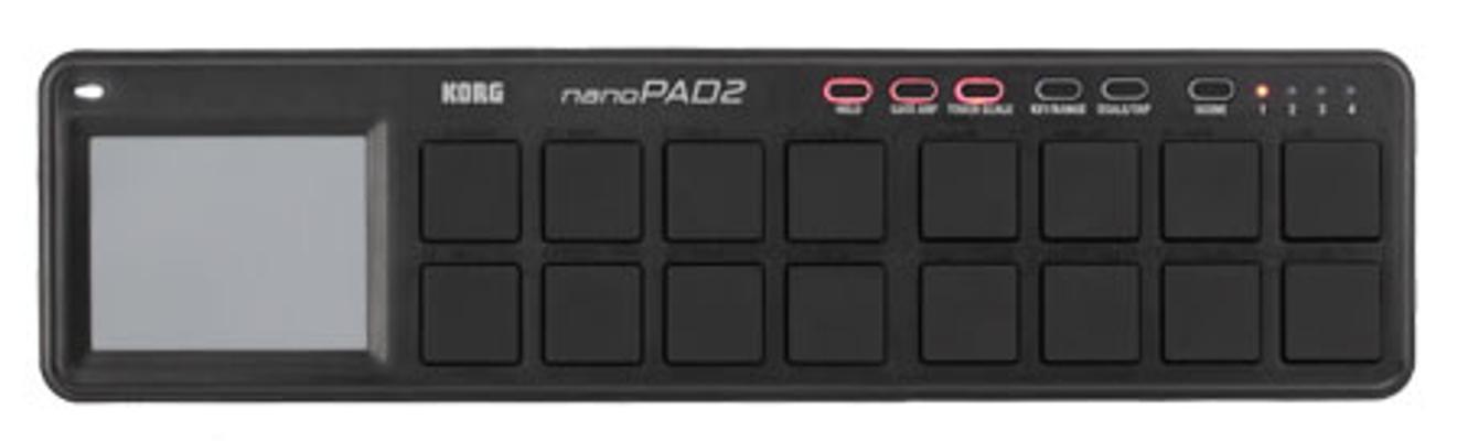 Drum Pad Controller USB in Black