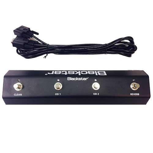 Blackstar Amps FS-7 Footswitch 4-Button Footswitch for HT-Stage 60 & HT-Stage 100 Model Amplifiers FS7-BLACKSTAR