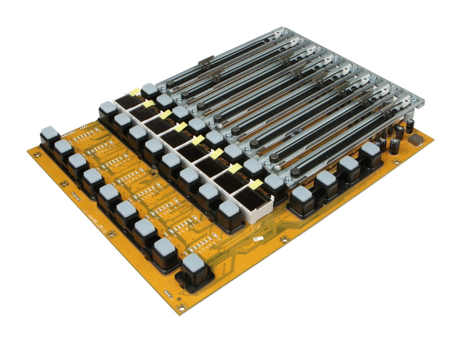 Left Fader Bank PCB Assembly for X32 (New Version)