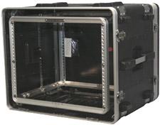 8 RU Lockable Shock Rack Case