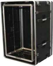 16 RU Lockable Shock Rack Case
