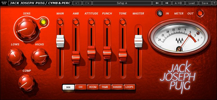 Cymbals and Percussions Plugin
