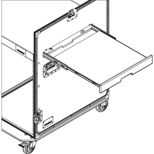Slide Out Shelf for Combo Racks