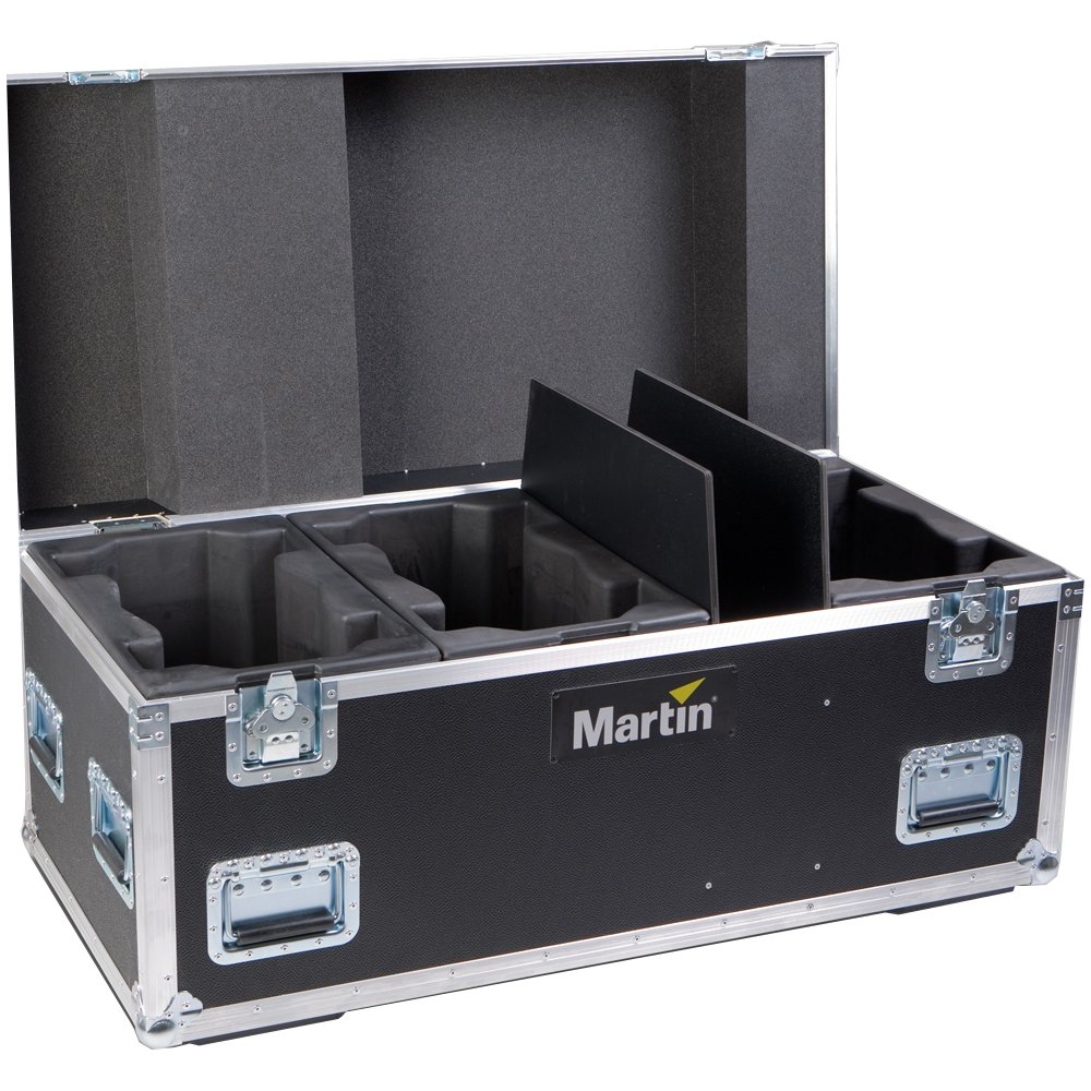 Martin Professional MAC-AURA-XB-CASE  6-unit Flightcase for the MAC Aura XB MAC-AURA-XB-CASE