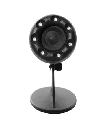 "2"" Point Source Speaker with Integrated RGB LEDs, Black"