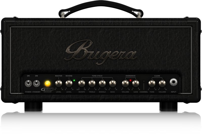 Bugera G20 INFINIUM 20-Watt Class-A Tube Amplifier Head G20INFINIUM