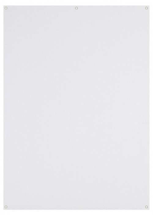 5' x 7' White X-Drop™ Backdrop (1.5 x 2.1 m)
