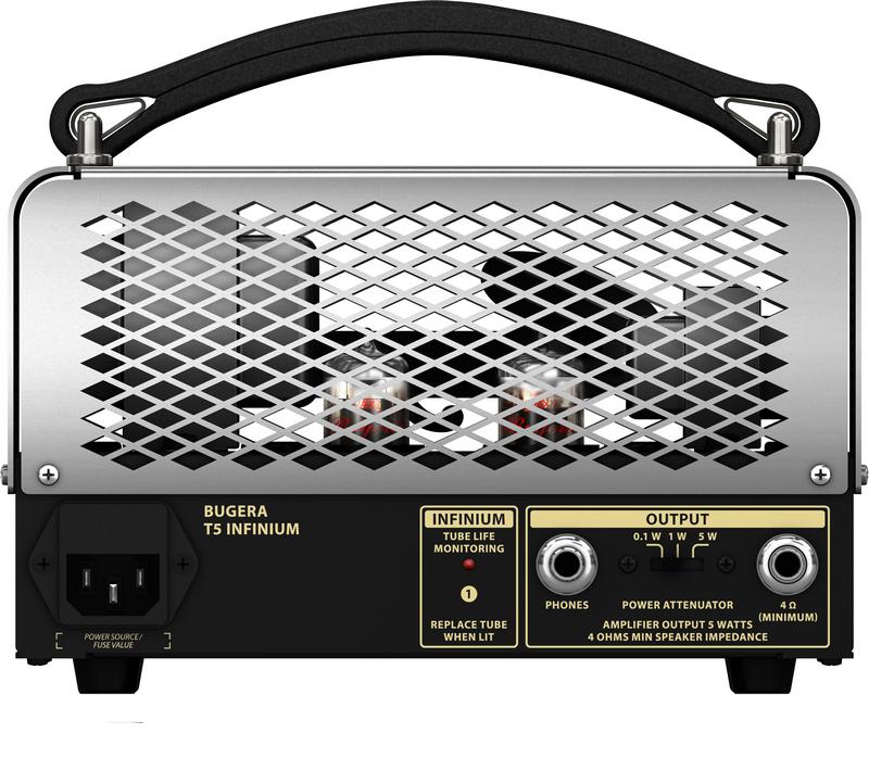 5-Watt Cage-Style Tube Amplifier Head