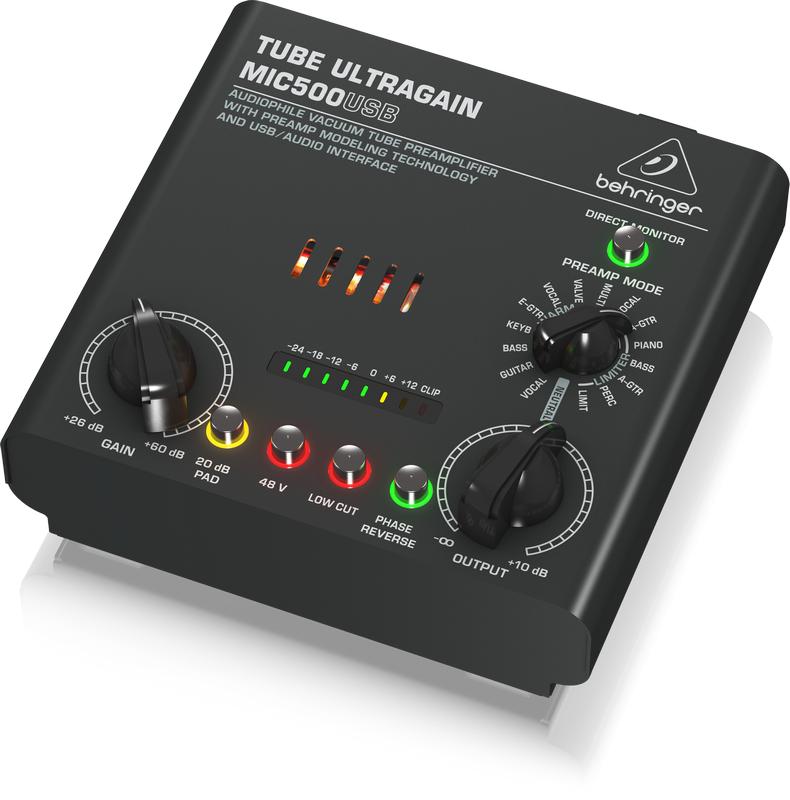 Audiophile Vacuum Tube Preamp