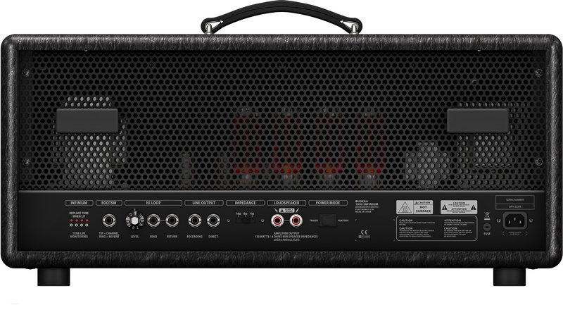 British Bite 120-Watt Tube Amplifier Head