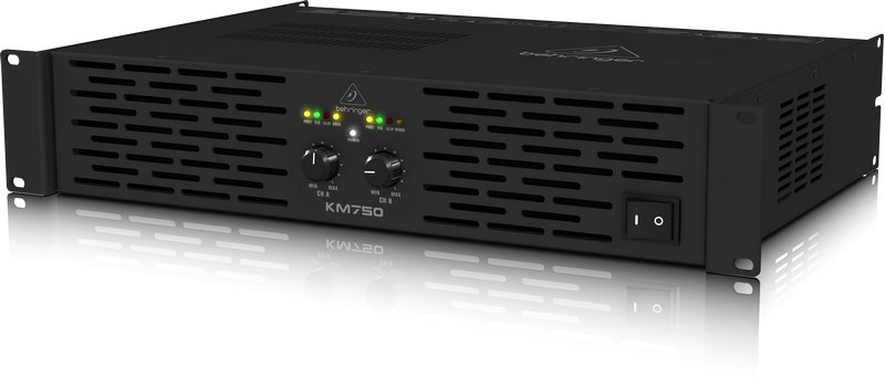 Professional 750-Watt Stereo Power Amplifier with ATR