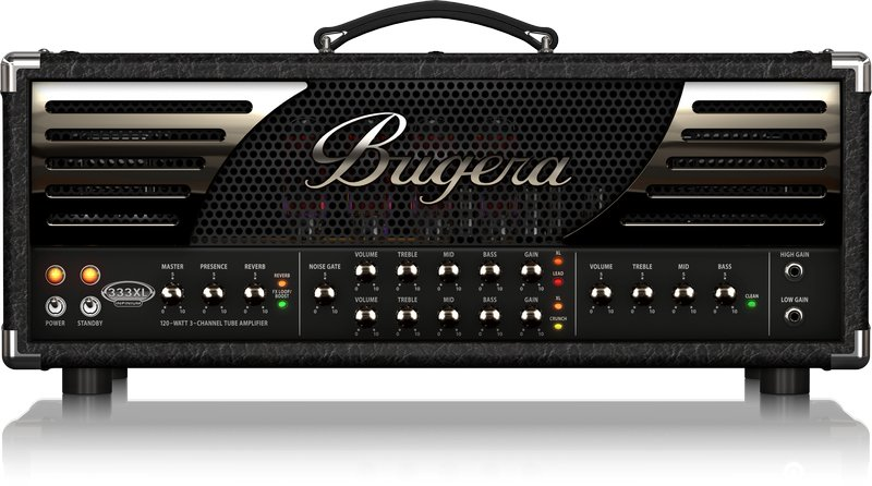 bugera 333xl infinium hardcore 120 watt 3 channel tube amplifier head full compass. Black Bedroom Furniture Sets. Home Design Ideas