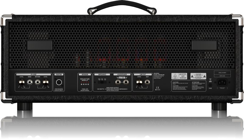 Hardcore 120-Watt 3-Channel Tube Amplifier Head