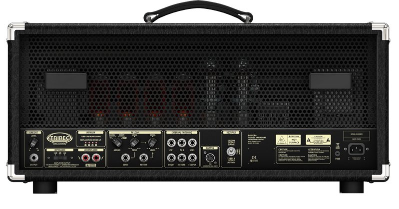 100 Watt 3-Channel Tube Amplifier Head