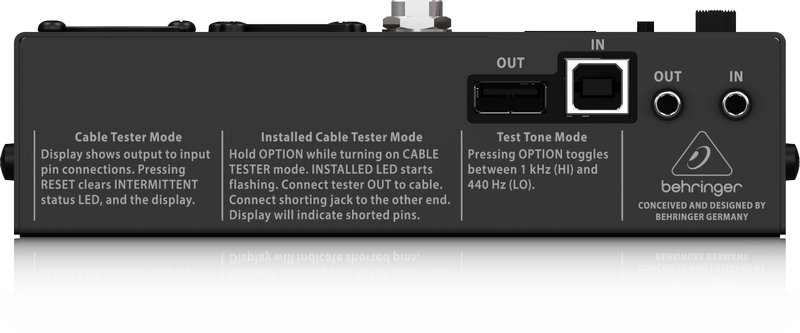 Microprocessor-Controlled 8-in-1 Cable Tester