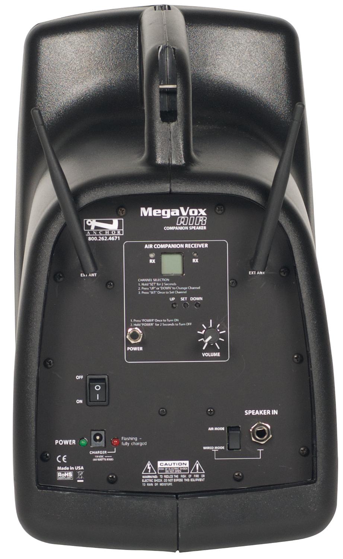 MegaVox Pro AIR Battery Powered Wireless Companion Speaker