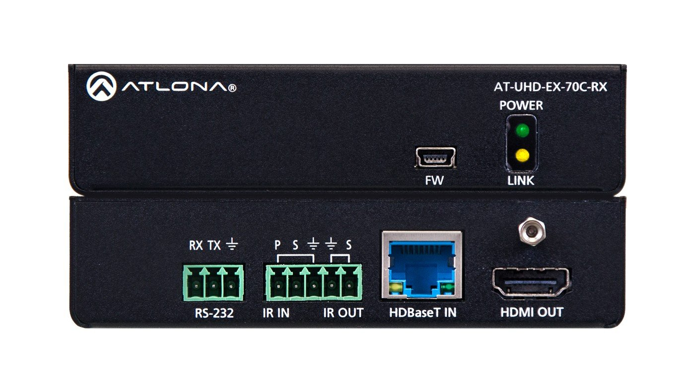 4K/UHD HDMI Over HDBaseT Receiver