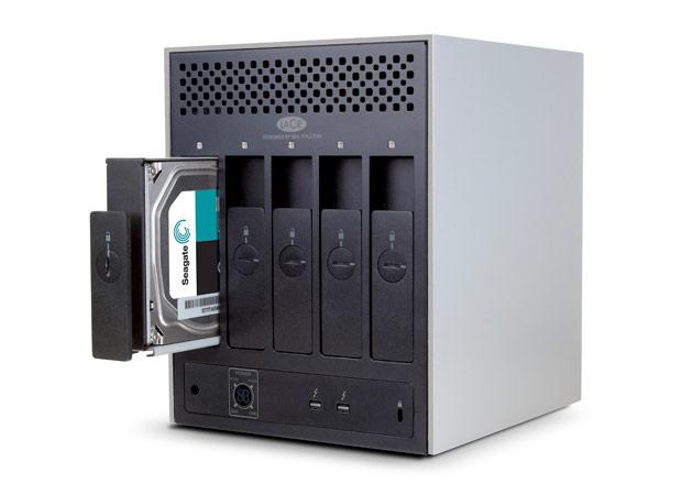 30TB 5-Disk Hardware RAID Dual Thunderbolt 2, 7200 RPM