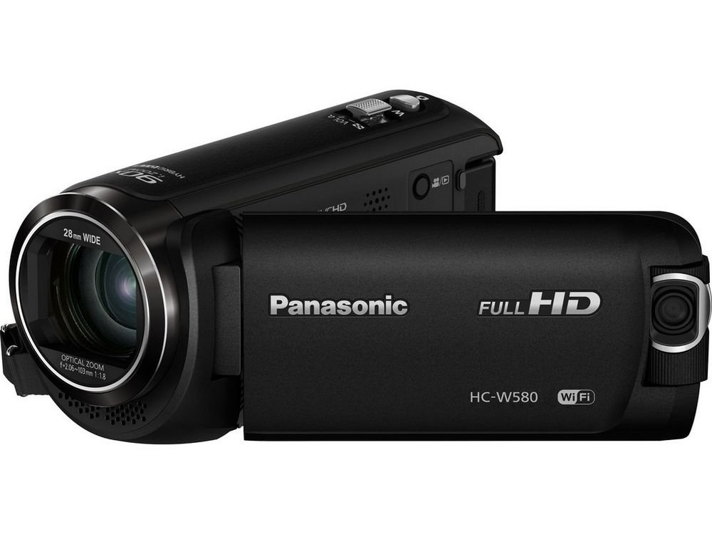 Full HD Camcorder with WiFi, Built-in Multi Scene Twin Camera
